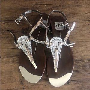 DV Anica Rope & Metal Thong Sandals